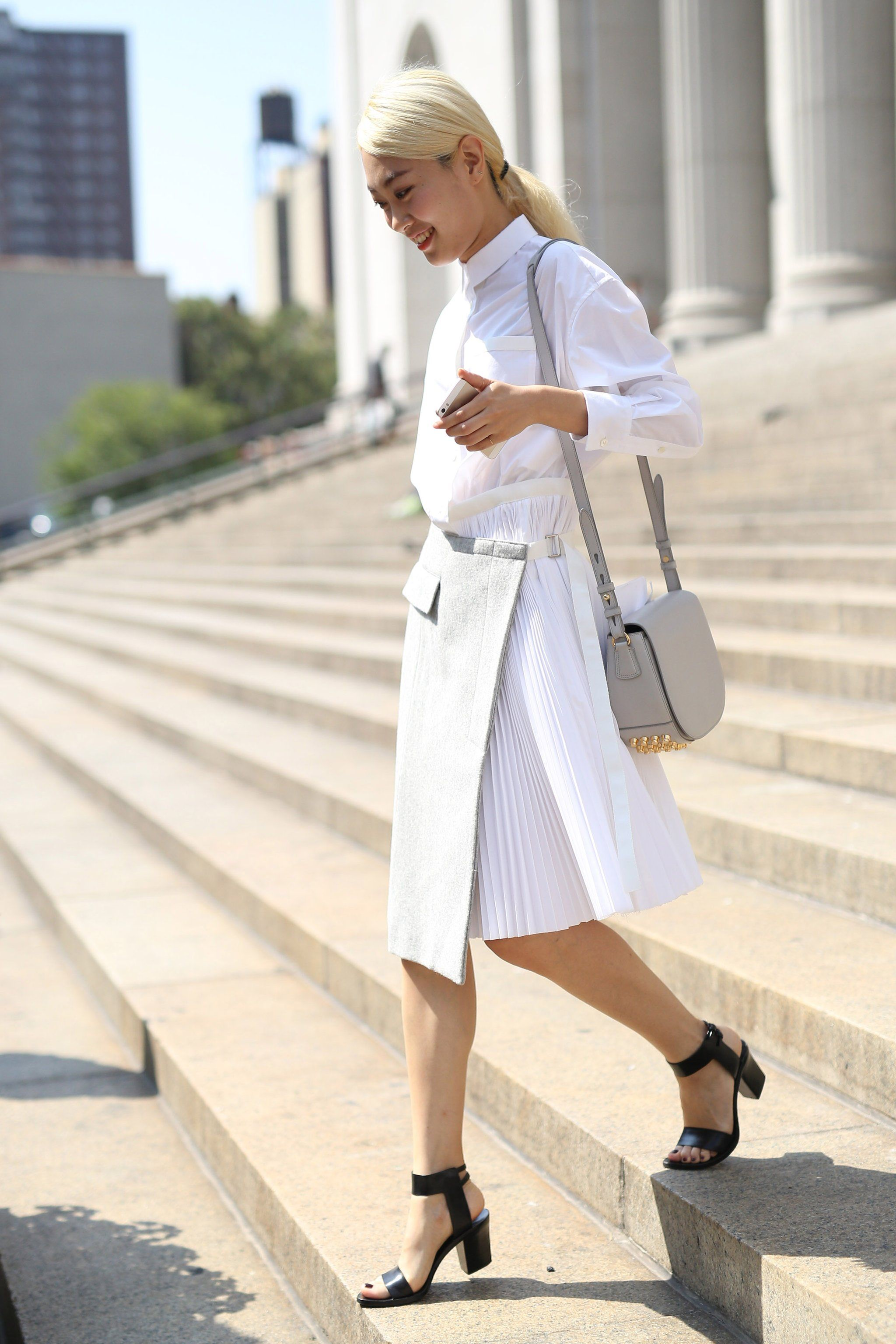 When less is more — stick to a minimalist palette and crisp silhouettes.