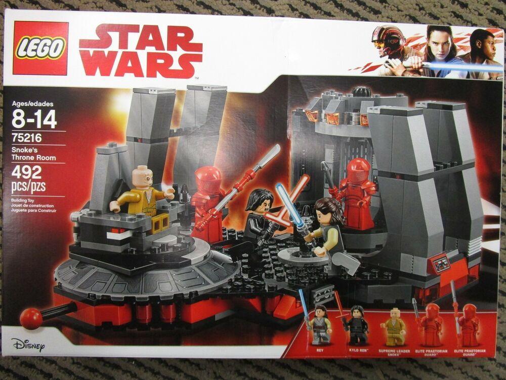 LEGO® Star Wars™ Snoke/'s Throne Room 75216 492 Pcs
