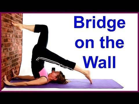pin on bridge yoga pose