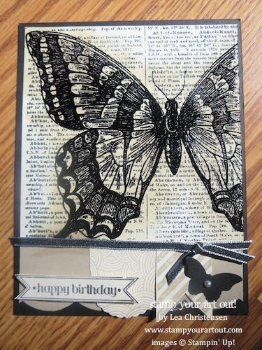 Stampin' Up!® Swap cards from Convention - Stamp Your Art Out!