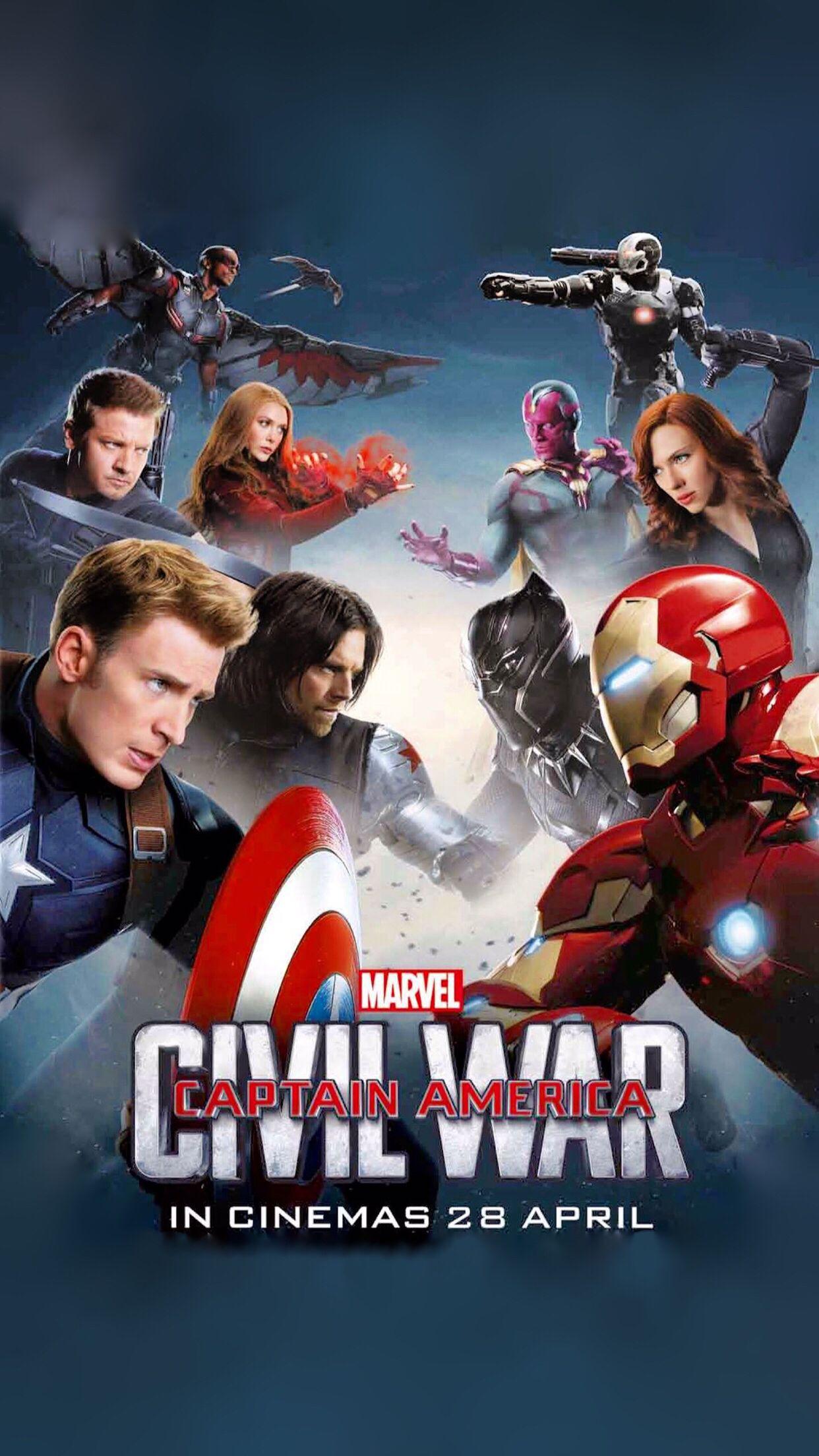 Captain America Civil War Wallpaper For IPhone 6 Plus