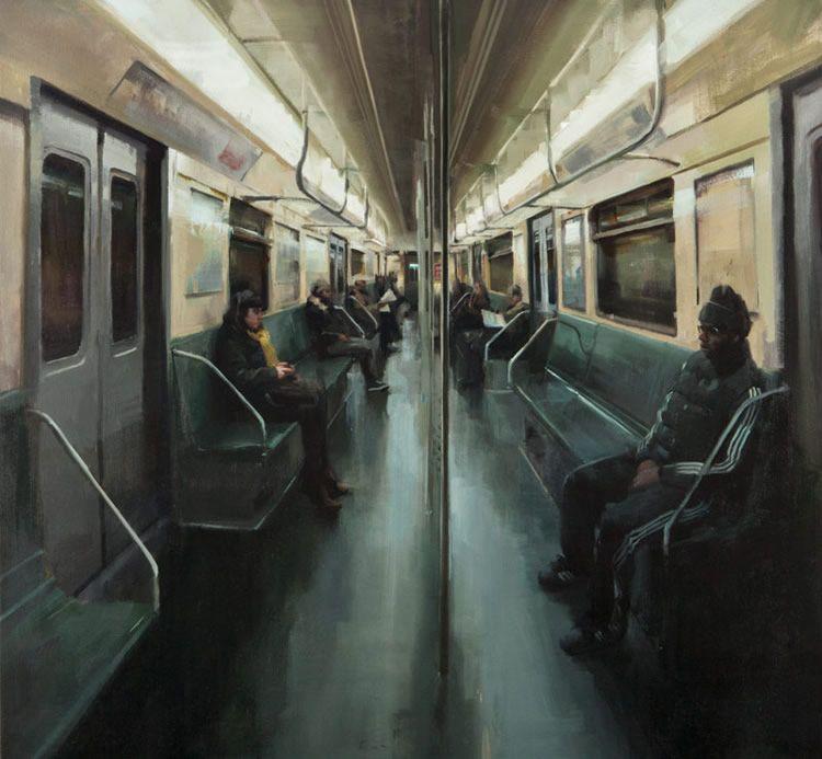 Картинки человечки в метро