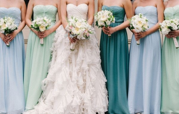 17 Best images about Bridesmaid Dresses on Pinterest  Mismatched ...