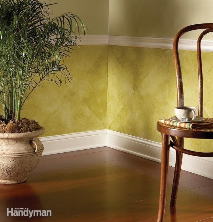 Paint Pizzazz: Decorative Painting Techniques | Wainscoting, Paint ...