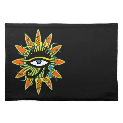 Third eye place mat