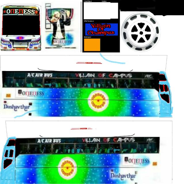 Bus Simulator Indonesia Kerala Skin In 2020 Kerala Indonesia