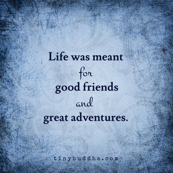 Good Friends Great Adventures Quotes Pinterest Friendship Interesting Buddha Quotes About Friendship