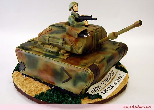 Magnificent Abrams Tank Birthday Cake Birthday Cakes Cake Creative Cakes Birthday Cards Printable Riciscafe Filternl