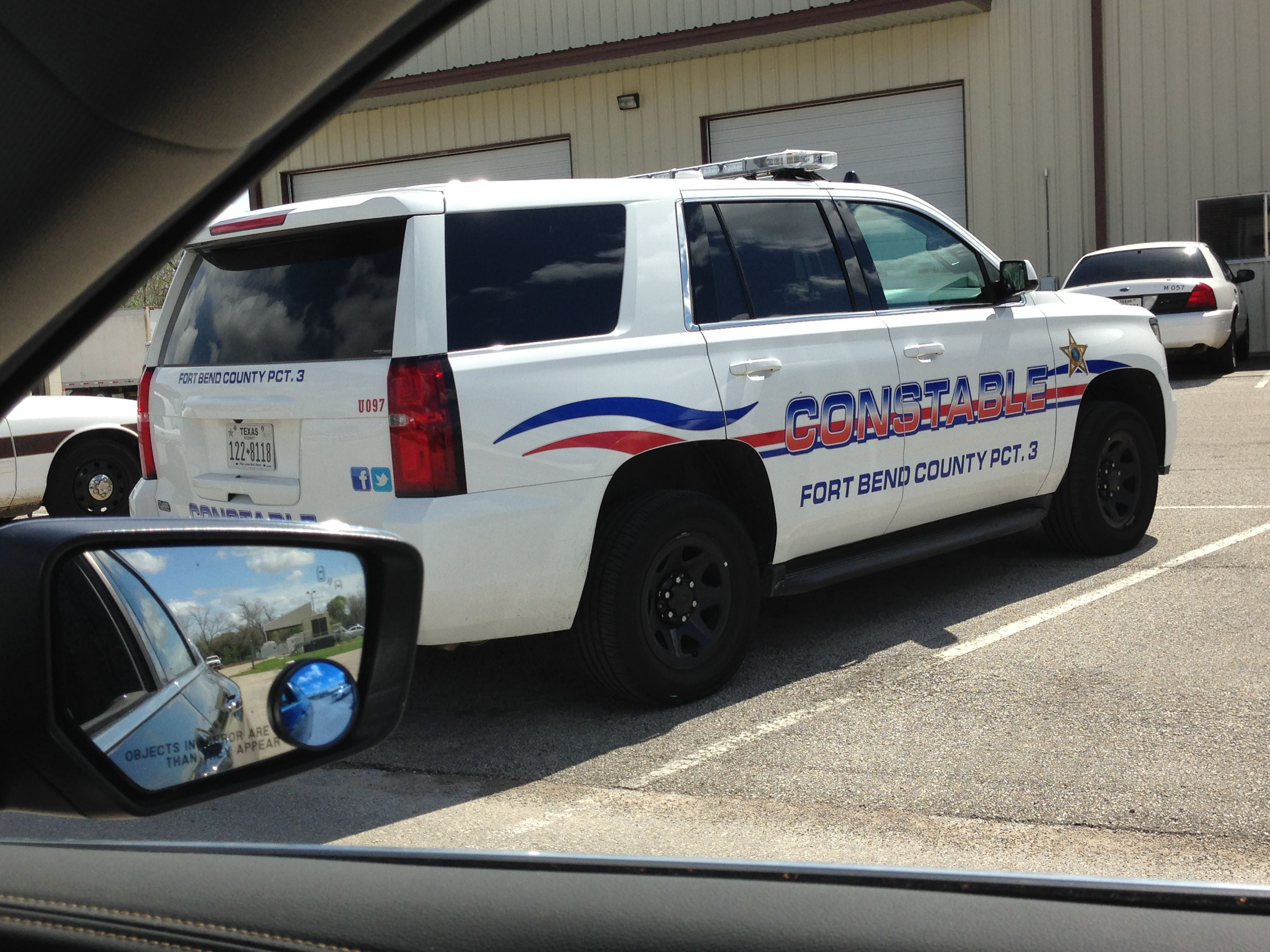 Fort Bend County Constable Precinct 3 Chevy Tahoe Chevy Tahoe Emergency Vehicles Police Cars