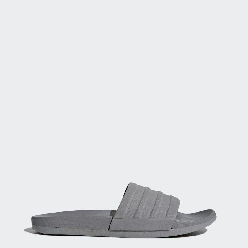adidas Adilette Comfort Slides - Grey | adidas US in 2020 ...