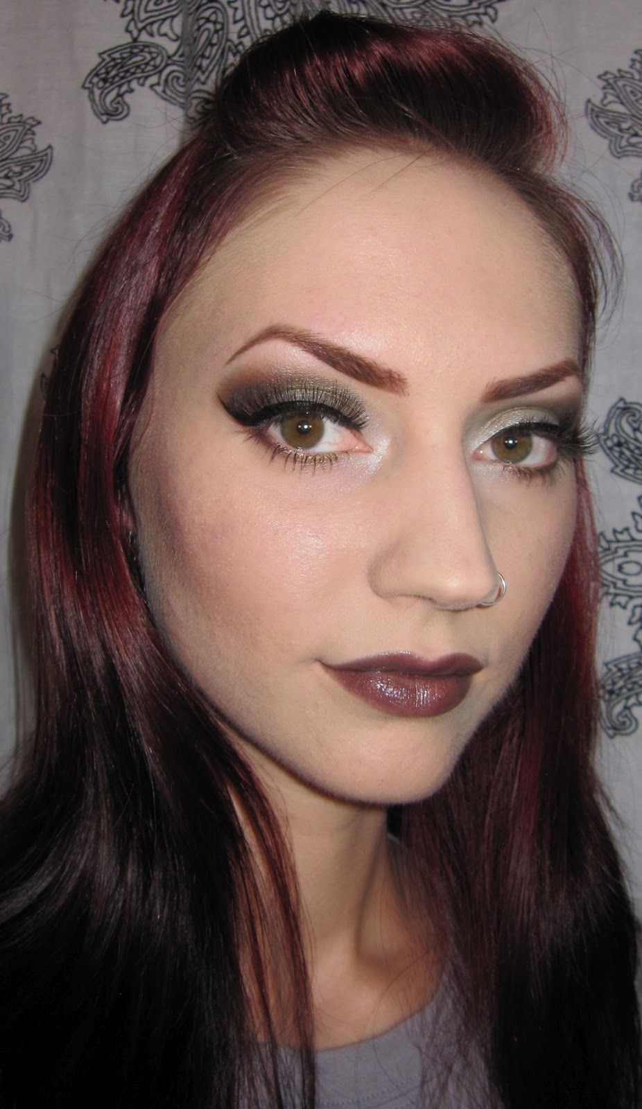 Eye Makeup For 50 Year Olds Emo Makeup Burgundy eye makeup