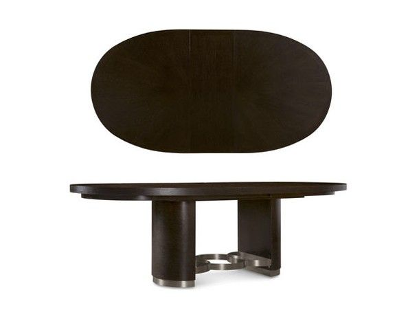 ART Furniture - Greenpoint Coffee Bean Oval Dining Table - 214230-23-2304 | Great Furniture Deal