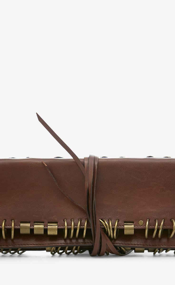 f9114f5e7e Yves Saint Laurent Rive Gauche Brown Clutch | Shoes & Bags | Bags ...