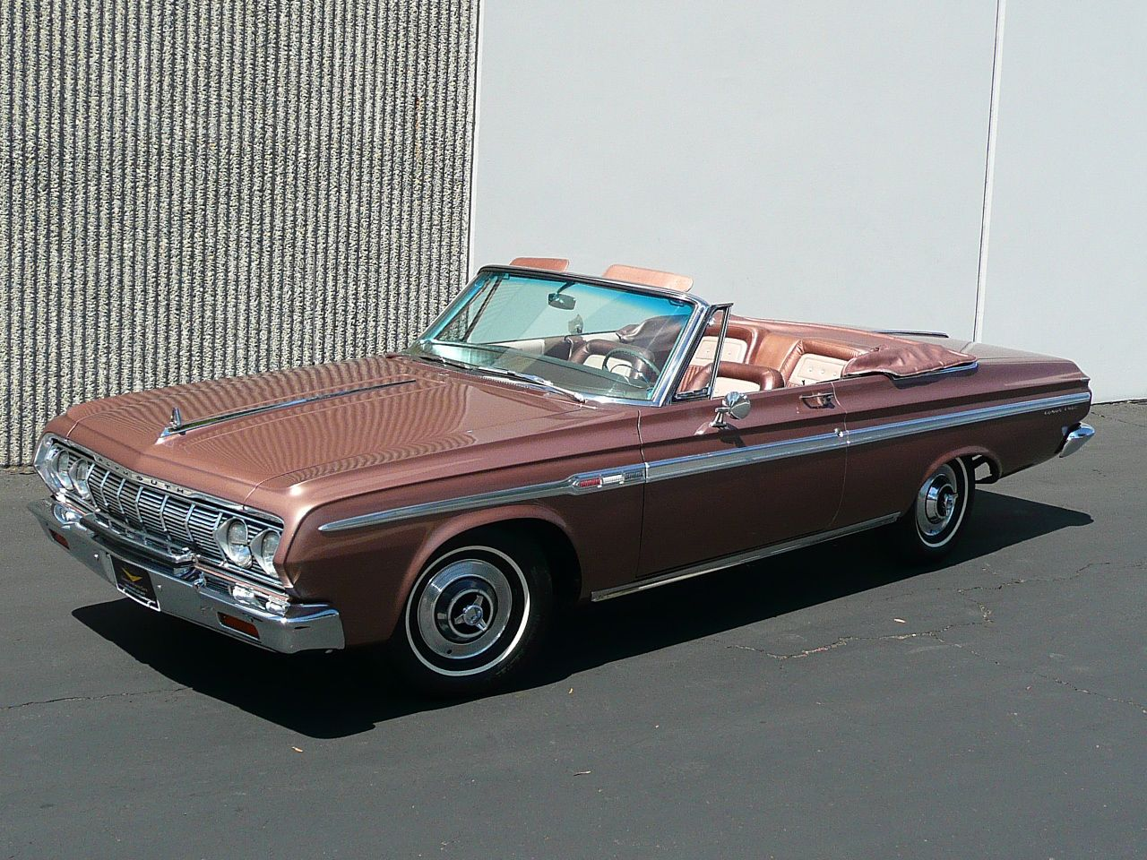 1964 PLYMOUTH SPORT FURY CONVERTIBLE Chevy sports cars