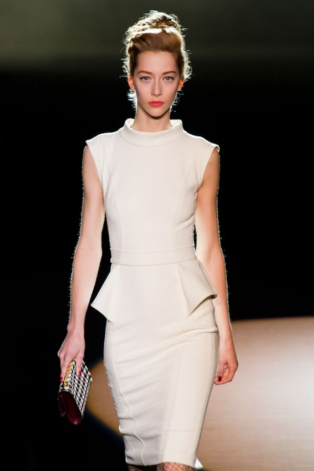 #BadgleyMischka Fall 2013 Collection #FashionTV