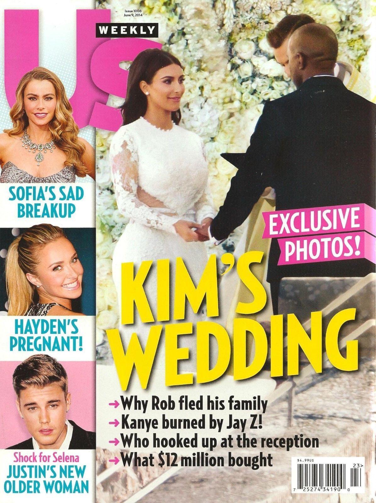 US Weekly Kim Kardashian West WEDDING Kanye West Sofia
