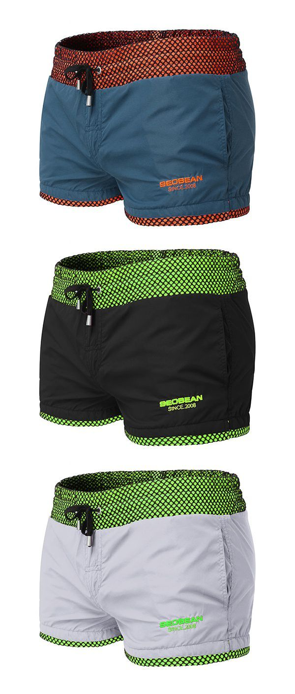 UP TO 55% OFF!!  Beach Quickly Dry Breathable Loose Swim Board Shorts for Men   - Herrenstile -
