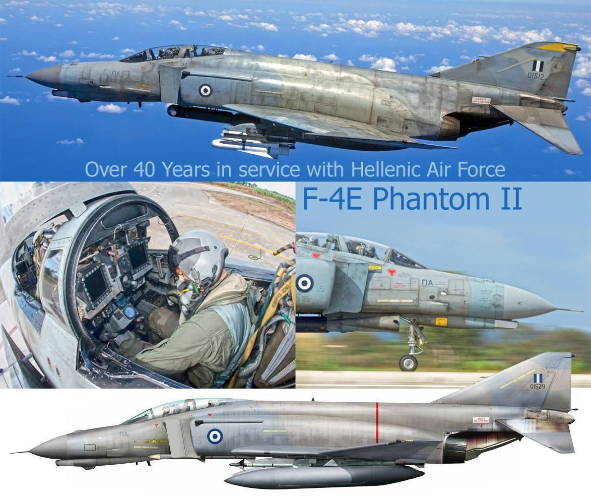 8db81ebfe2b2d7 F-4E AUP Phantom II HAF   Post WW II profiles   pictures   Jet ...