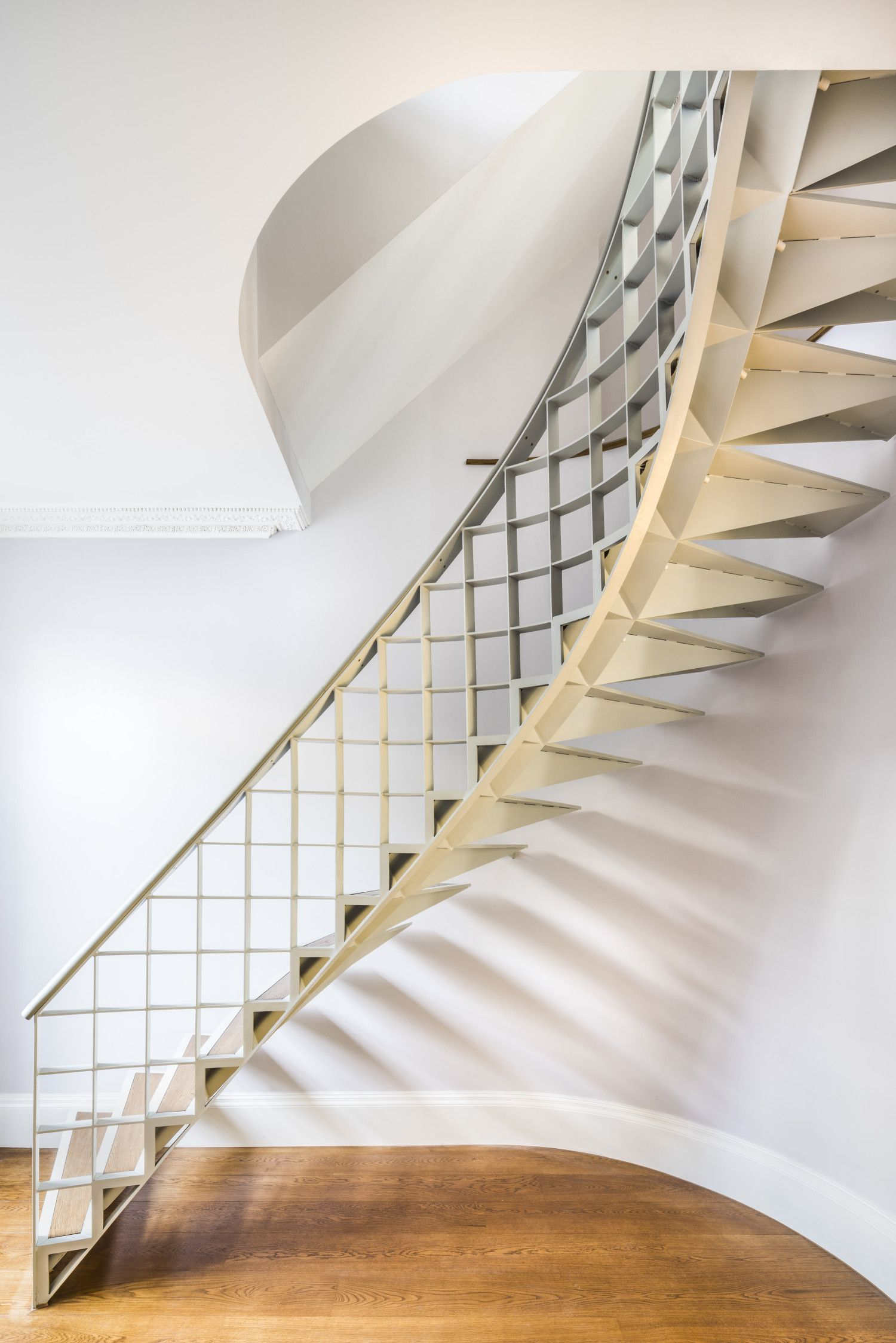 Best Bespoke Internal Staircase For A Grade Ii Listed Building Modern Staircase Staircase Design 400 x 300