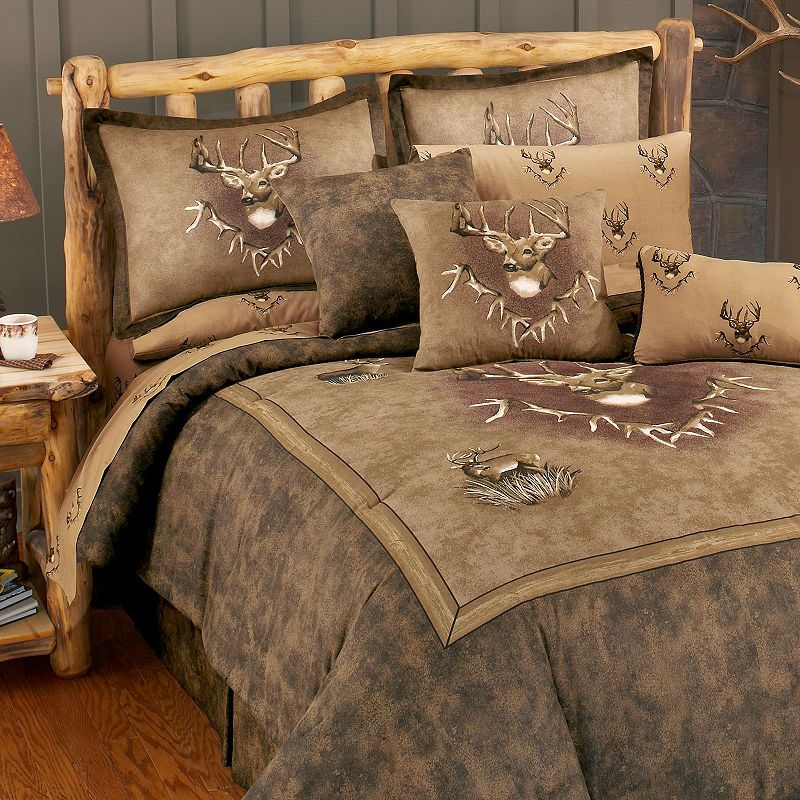 Blue Ridge Trading Whitetail Ridge Comforter Set Twin