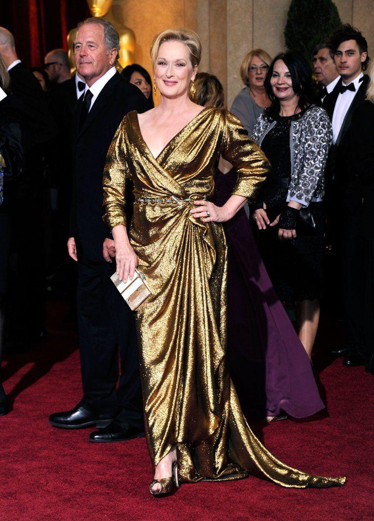 Pin for Later: Die 85 unvergesslichsten Kleider der Oscars – von 1939 bis 2015 Meryl Streep bei den Oscars 2012 in Lanvin