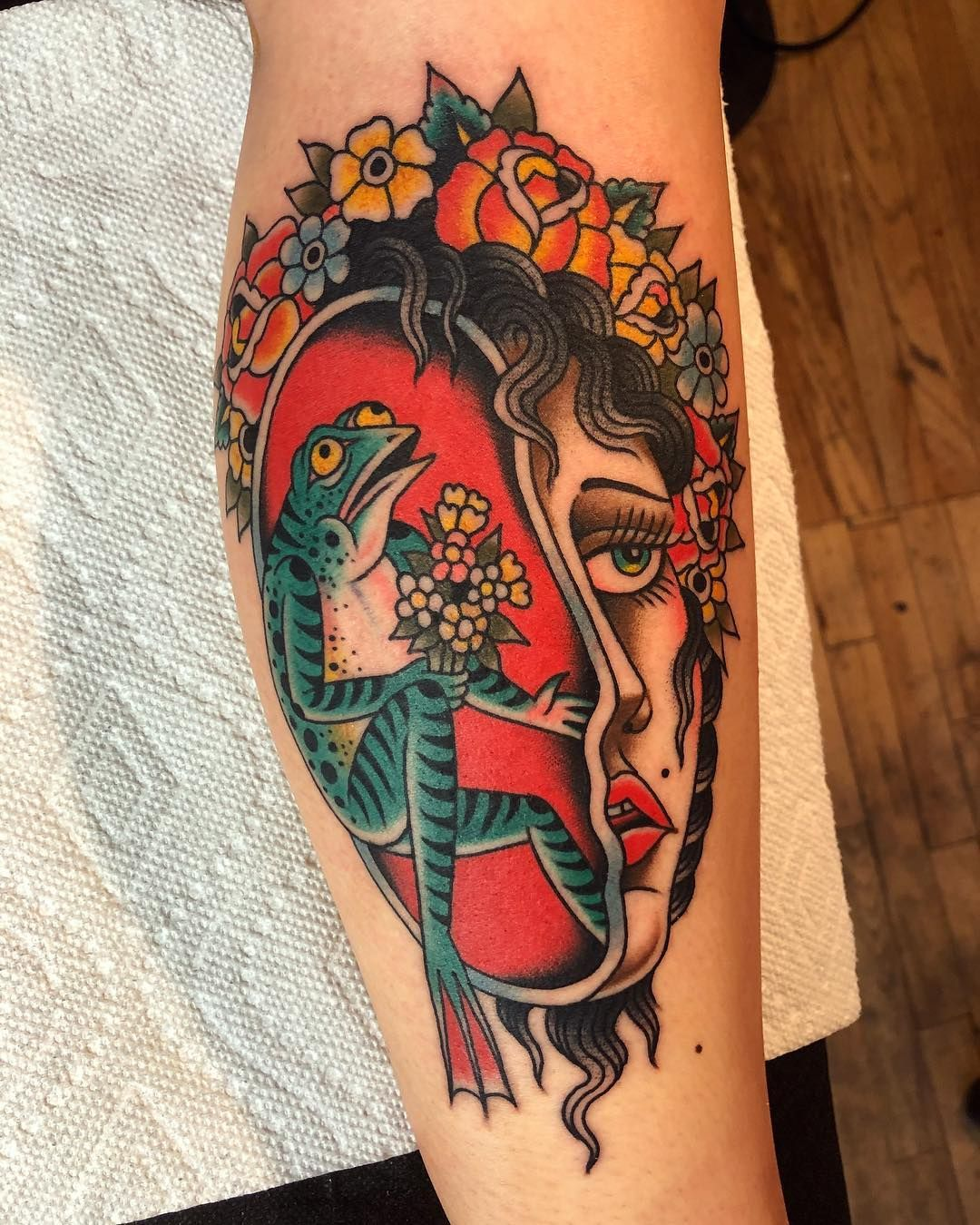 Gregory whitehead unusual traditional tattoo