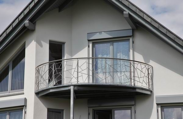 wertvolle edelstahl balkongel nder in schmitzstruktur edelstahl balkongel nder balkongel nder. Black Bedroom Furniture Sets. Home Design Ideas