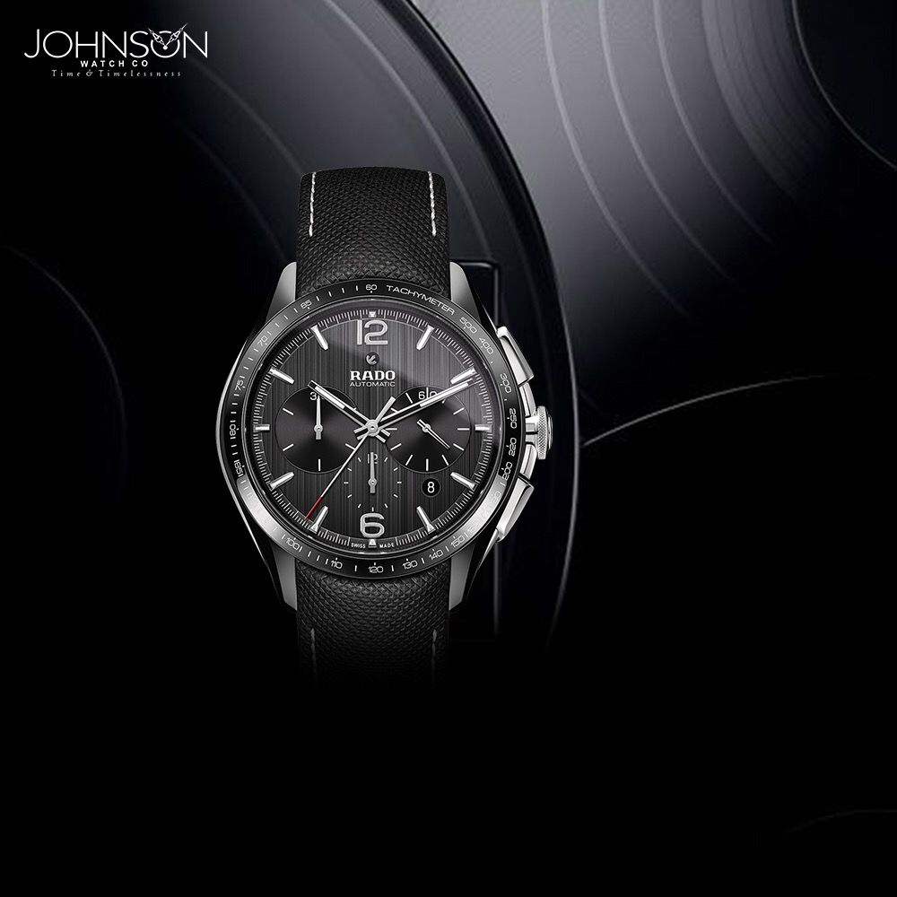 Iconic Design For A Timeless Look The Rado Hyperchrome Automatic Chronograph Rado Available At Johnsonwatchco Watch Watches For Men Rado Wrist Watch