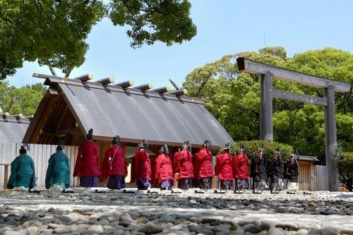 熱田神宮、1900年祝う