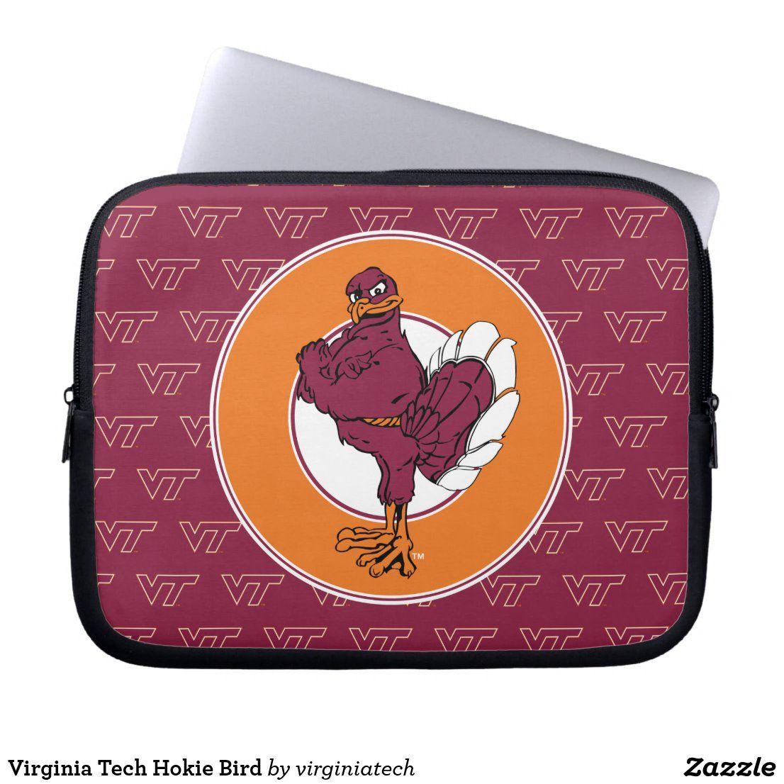 Virginia Tech Hokie Bird Laptop Sleeve