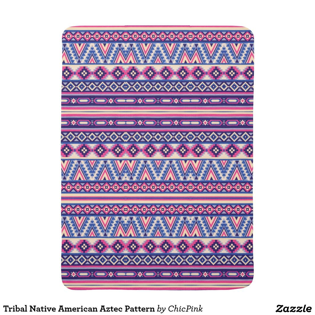 Tribal Native American Aztec Pattern Receiving Blankets