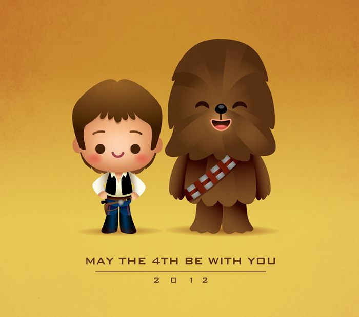 May The Fourth Be With You Wookie: May The 4th Be With You /by Jerrod Maruyama #StarWars