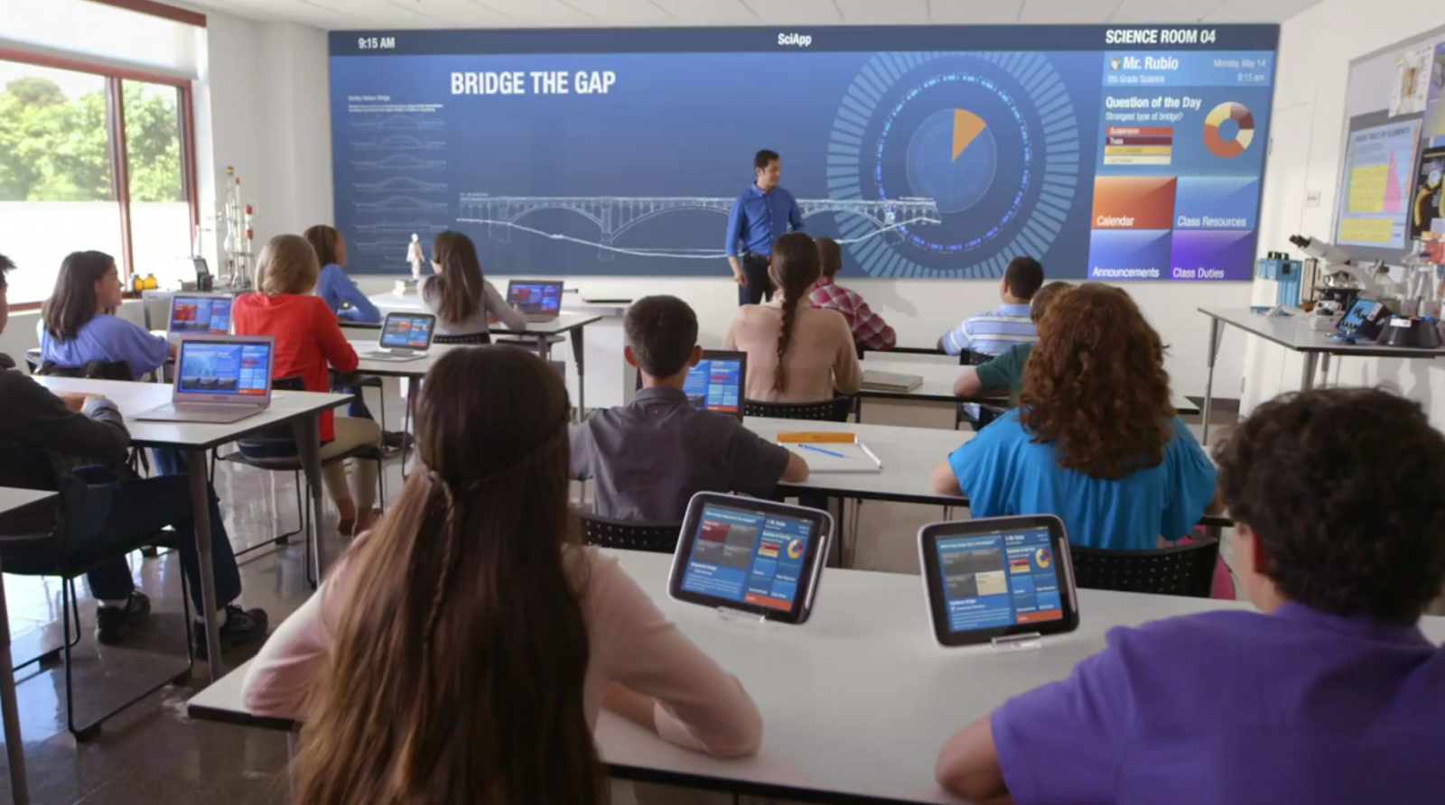 Classroom Technology Ideas ~ The classroom of future sciencegymnasium high tech