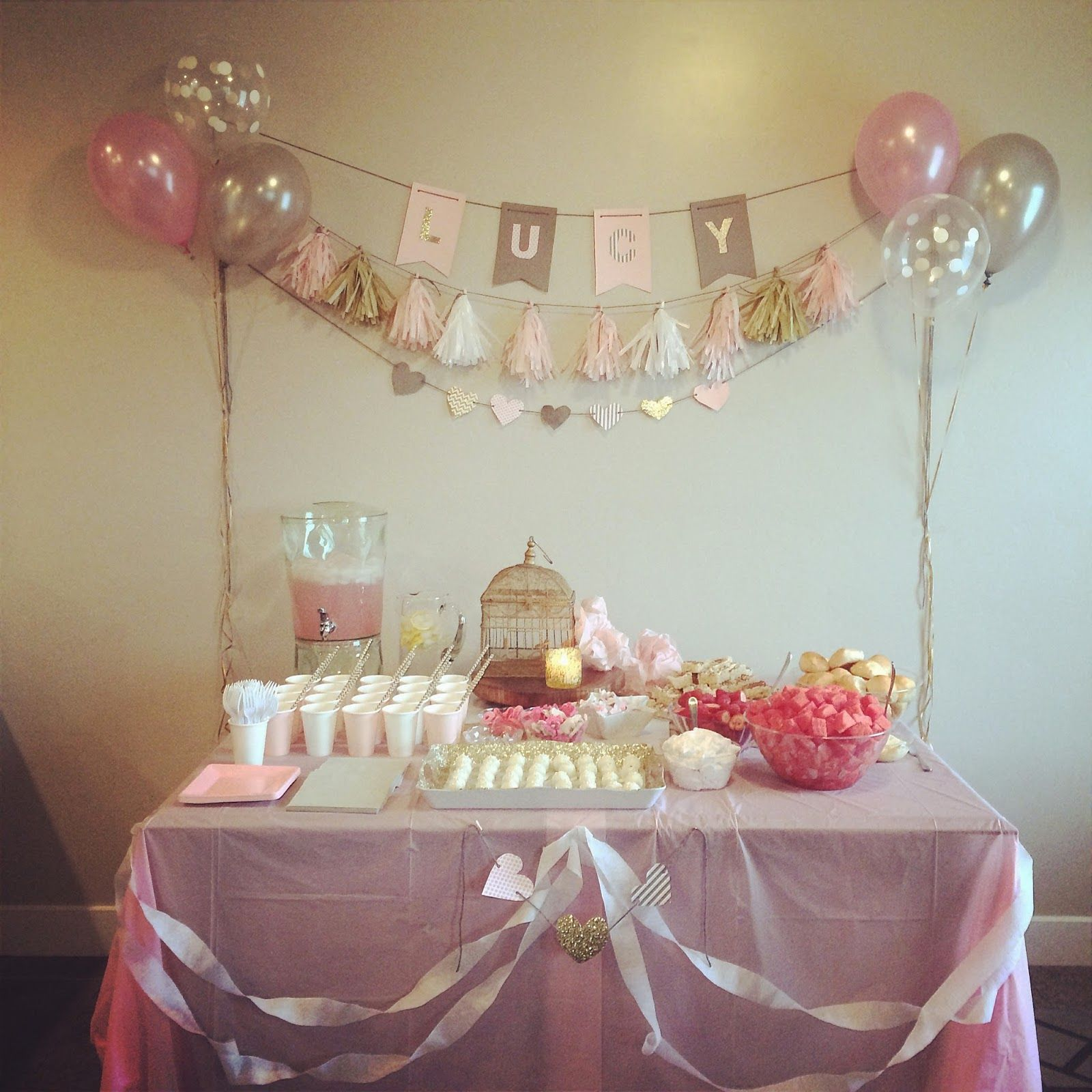 Baby Shower Decoration Ideas For Cheap baby shower on budget- how to throw a baby shower for under $80