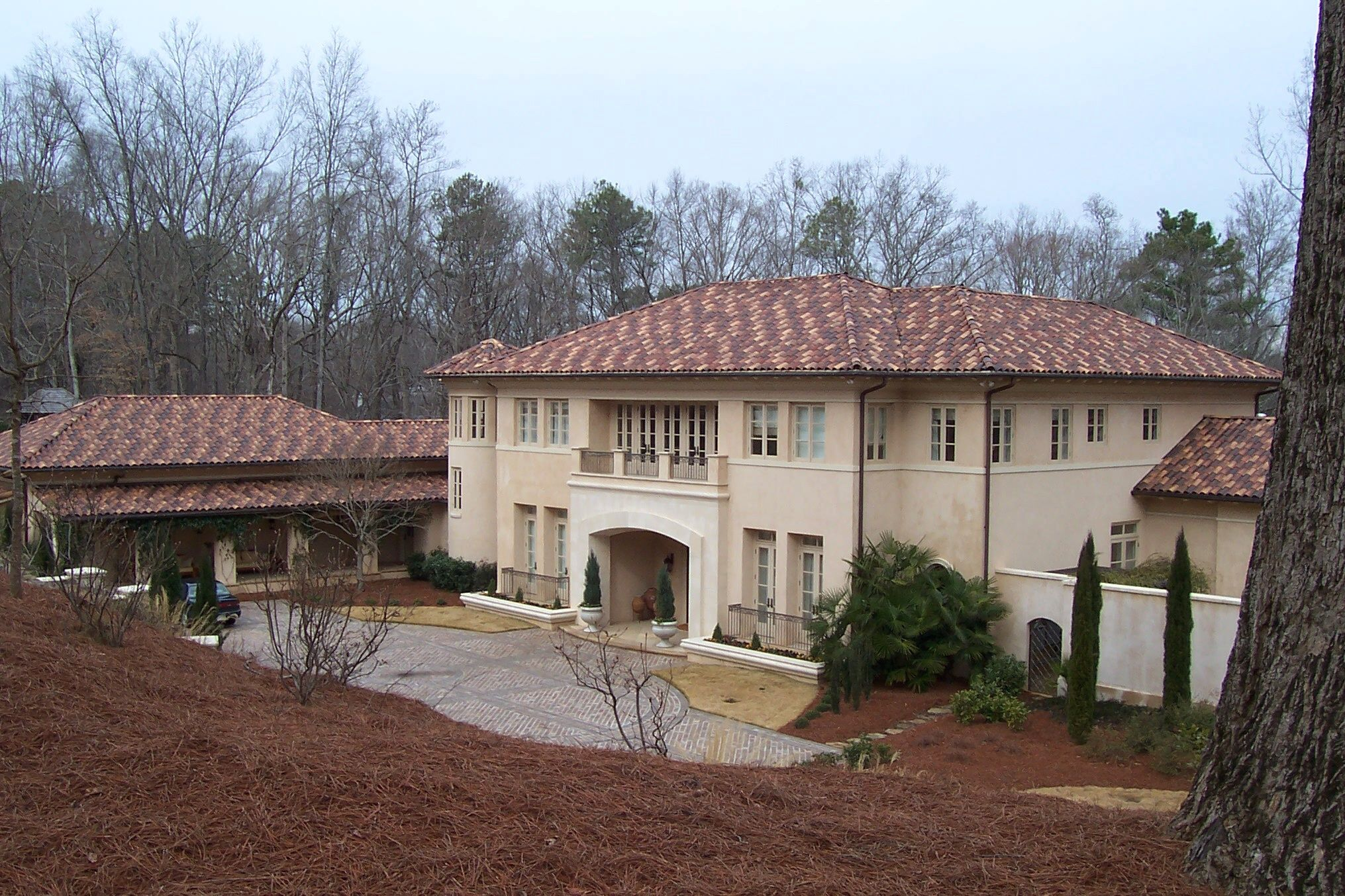 Santafe Clay Spanish S Tile Custom Blend Roofing Options Green Roof Residential Roofing