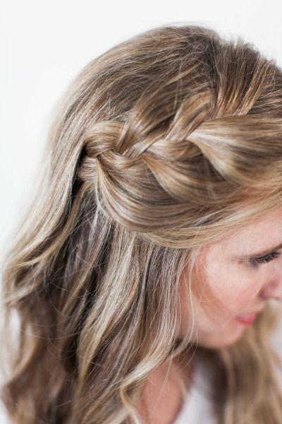 Bridal Beauty Side Braid With A Loose Twist Hair Styles Hair Beauty Hairdo