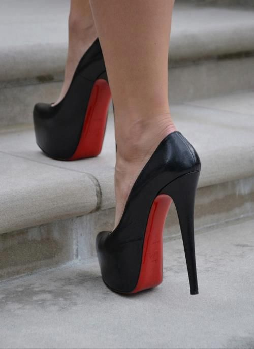 4d081a4909c7 A shoe has so much more to offer than just to walk - Christian Louboutin  via www.heartoverheel.