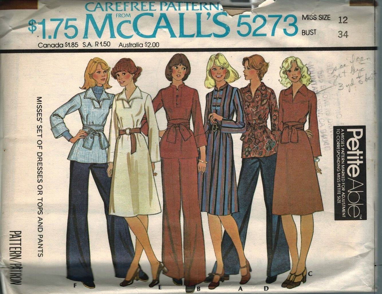 Mccall S S Separates