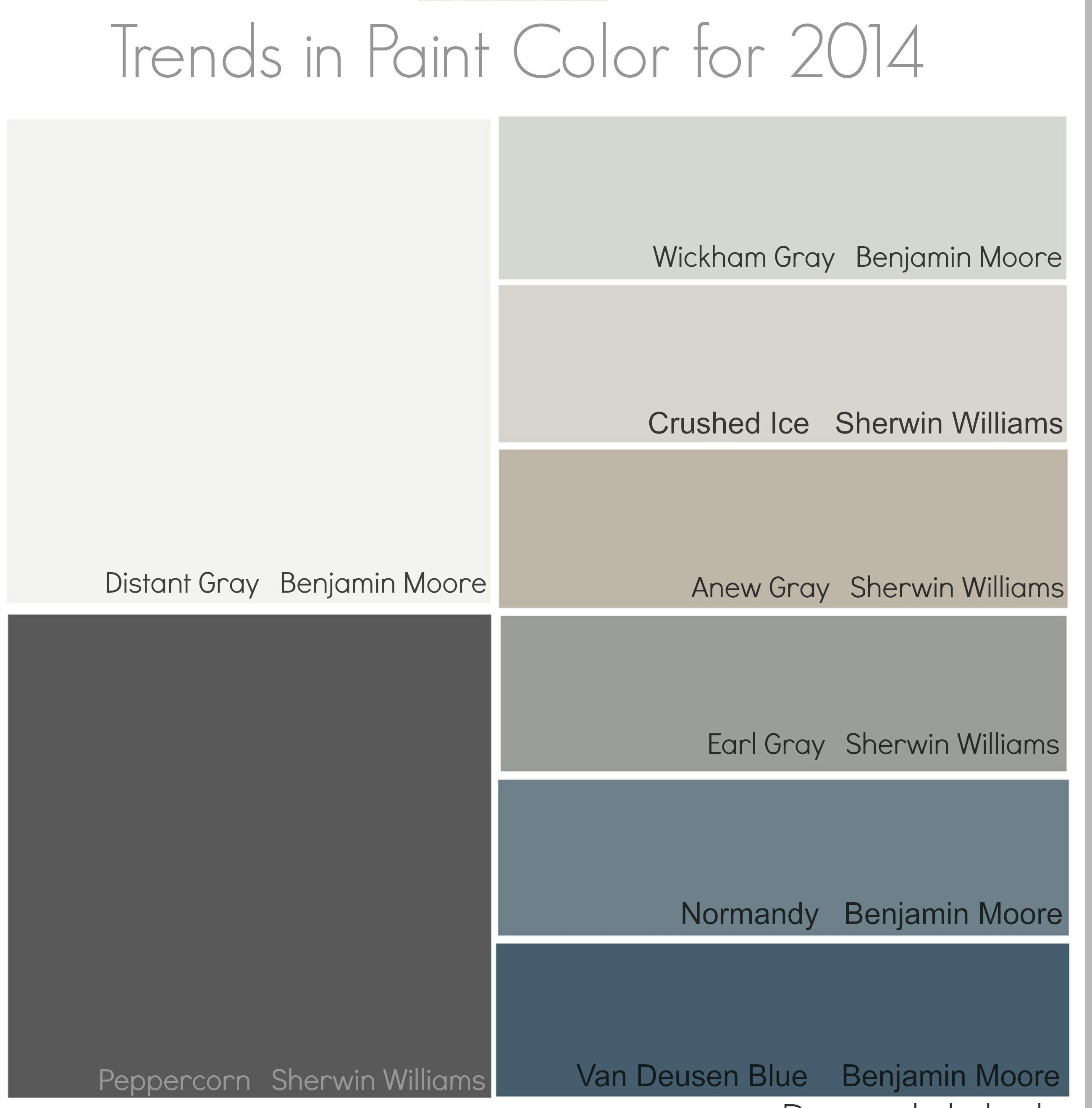 2014 Colors Paint Colors For Home Paint Colors Interior Paint Colors Schemes