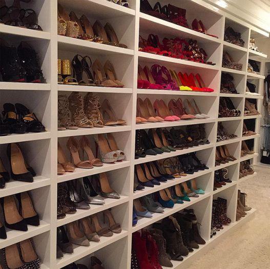 Take A Look Inside The Shoe Closets Of Celebs Including Khloe Kardashian,  Kylie Jenner, Blake Lively, Mariah Carey U0026 More.