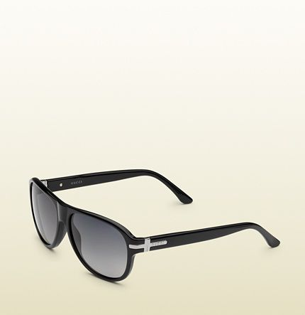 0f16bac770 gafas de sol tipo piloto negras - gucci | sunglasses | Pinterest ...