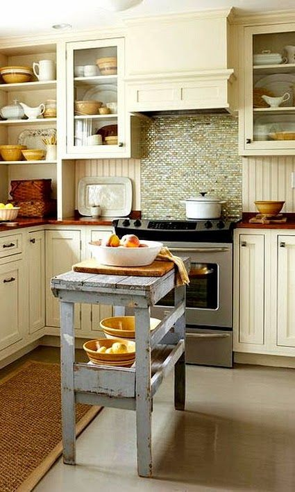 Ideas para colocar una isla en cocinas peque as kitchens - Islas de cocinas pequenas ...