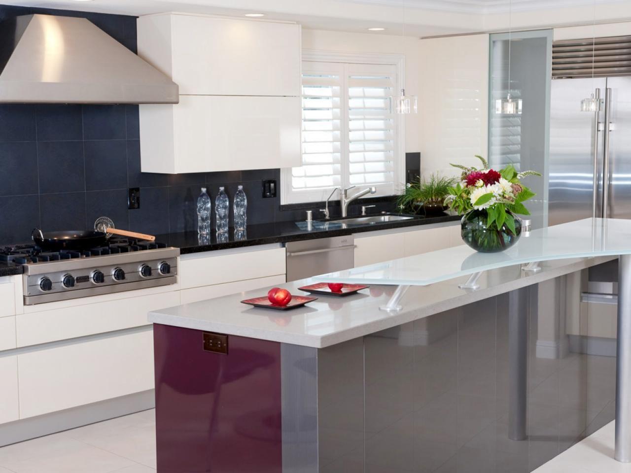 14 Best Kitchen Countertops Images On Pinterest  Kitchen Alluring Latest Kitchen Design Decorating Design
