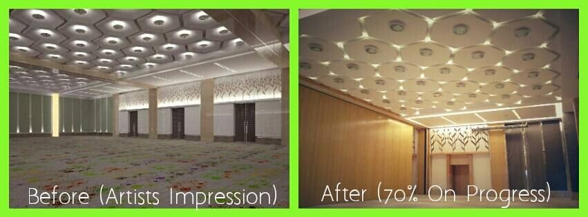 Looking For Venue Which Can Accommodate 1 000 People Onprogress Holiday Inn Jakarta Kemayoran Will Features High Ceiling And Pillar Less Grand Ballroom That