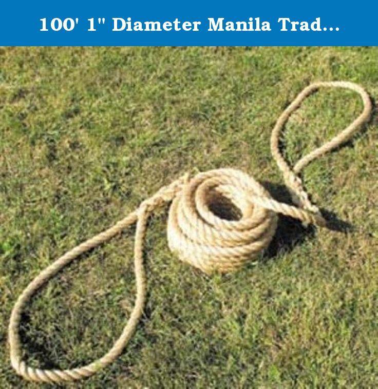100 1 Diameter Manila Traditional Tug Of War Rope Traditional Grade School Level Tug Of War Rope Each Rope Has A Firmly Wove Natural Fibers Tug Of War Rope