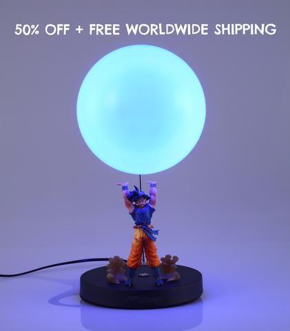 Goku Spirit Bomb Lamp 2.0