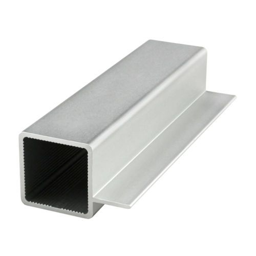 8020-Inc-1-034-x-1-034-Aluminum-Quick-Frame-Sq-Tube-w-Single-5-034-Flange-9005-x-24-N