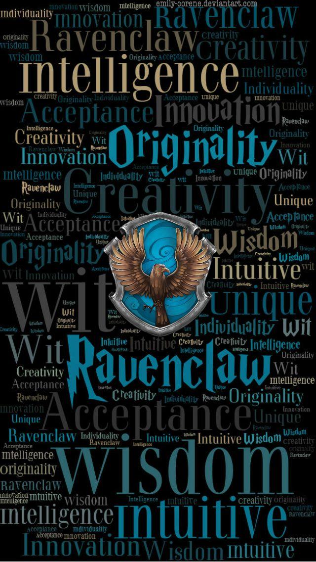 HD Ravenclaw Phone Wallpaper by emily-corene on DeviantArt ...