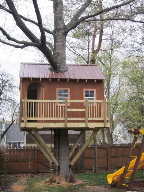 19 Amazing Treehouses That Aren T Just For Kids Tree House Plans Tree House Cool Tree Houses