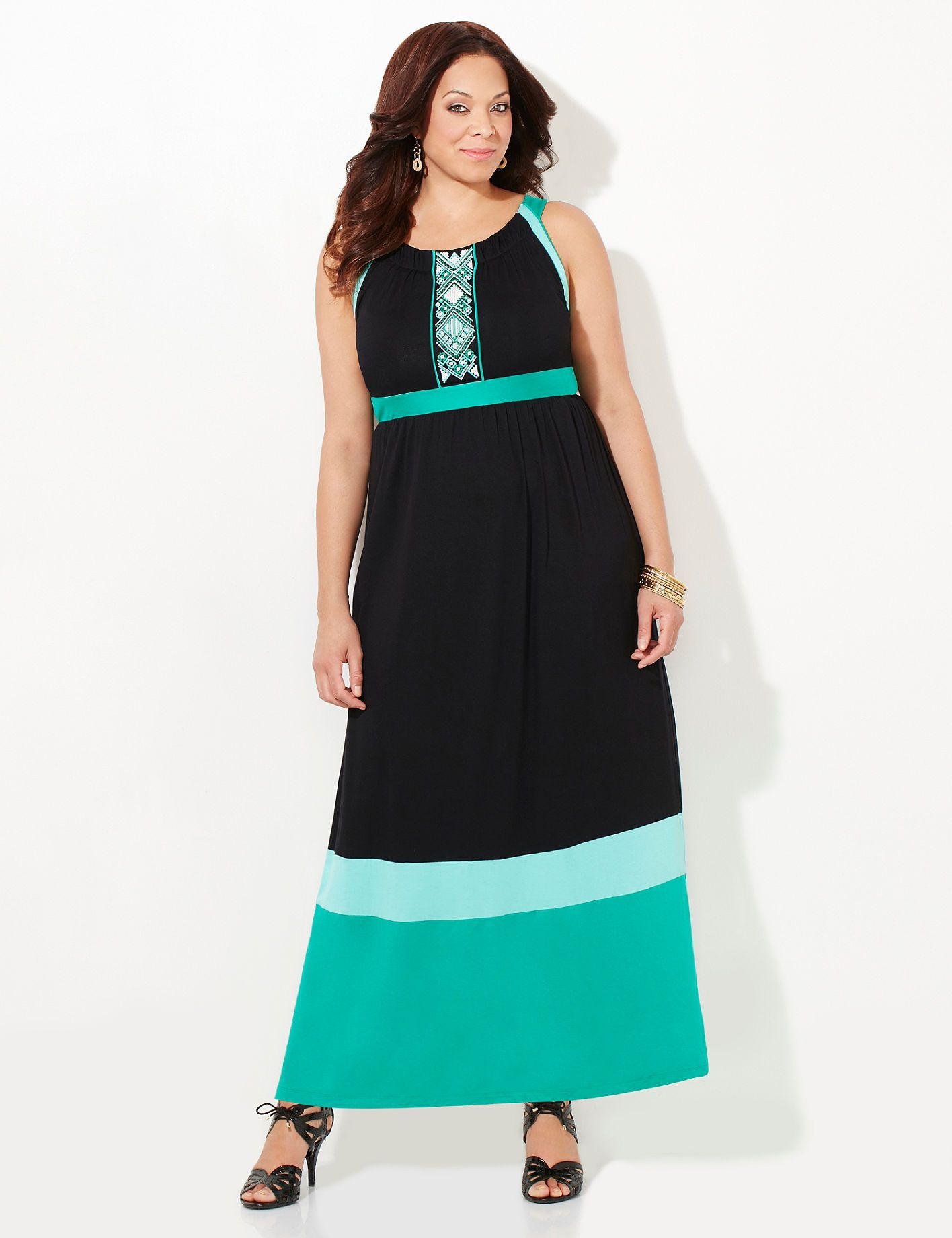 Sunkissed Meadow Maxi Catherines Bold Colorblocking And A